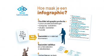 Klik en download gratis de infographic: Hoe maak je een infographic in 12 stappen?